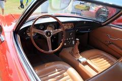 Lamborghini 400gt inside cockpit stock photography