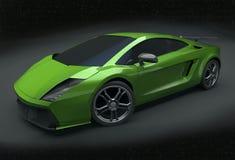 Lamborghini herontworpen Superleggera Stock Afbeeldingen