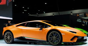 Lamborghini Huracán Performante stock image
