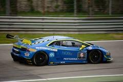Lamborghini Huracán Super Trofeo Race at Monza Stock Images