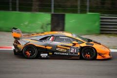 Lamborghini Huracán Super Trofeo Race at Monza Stock Photography