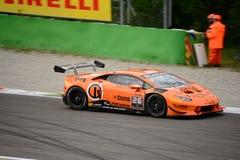 Lamborghini Huracán Super Trofeo Race at Monza Stock Photo