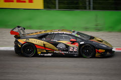 Lamborghini Huracán Super Trofeo Race at Monza Royalty Free Stock Photography