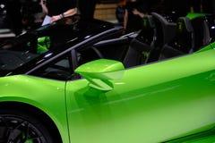 Lamborghini Huracà ¡ n EVO Spyder royalty-vrije stock afbeelding