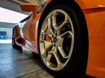 Lamborghini Huracan royalty-vrije stock afbeelding