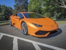 Lamborghini Huracan 2015 Royalty-vrije Stock Afbeelding