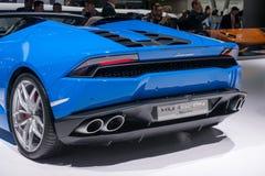 Lamborghini Huracan Stock Afbeelding