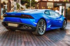 Lamborghini Huracan fotografia stock
