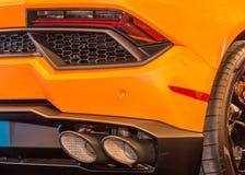 Lamborghini Huracan Exhaust Stock Images