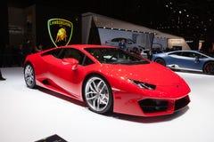 Lamborghini Huracan in Geneva Stock Photography