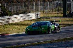 Lamborghini Huracan GT3 2015 em Monza Imagens de Stock