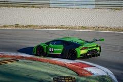 Lamborghini Huracan GT3 2015 en Monza Imágenes de archivo libres de regalías