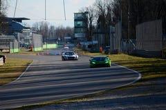 Lamborghini Huracan GT3 2015 in Monza Royalty-vrije Stock Foto's