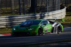 Lamborghini Huracan GT3 2015 in Monza Stock Afbeeldingen