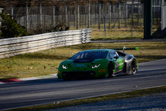 Lamborghini Huracan GT3 2015 på Monza Arkivbilder