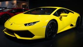 Lamborghini Huracan LP 610-4跑车 免版税库存照片