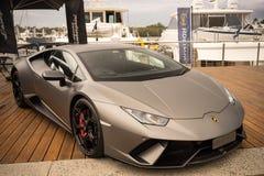 Lamborghini Huracan LP640 Performante obraz stock