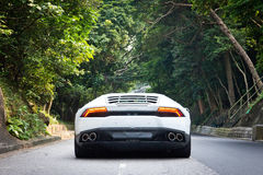 Lamborghini Huracan LP610-4 2014 test drive Stock Images