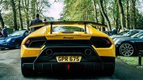 Lamborghini Huracan Performante fotografie stock libere da diritti