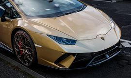 Lamborghini Huracan Performante 库存照片