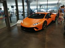 Lamborghini Huracan Performante imagem de stock royalty free