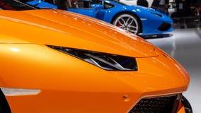 Lamborghini Huracan Spyder跑车 免版税库存照片