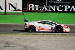 Lamborghini Huracan Super trofeo 2015 at Monza Stock Images