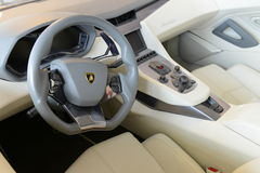 Lamborghini interior Royalty Free Stock Image