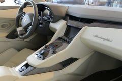 Lamborghini interior Royalty Free Stock Images