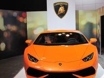 Lamborghini 2015 Internationale toont Auto van New York Royalty-vrije Stock Afbeelding