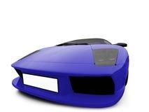 Lamborghini isolated blue Stock Photos