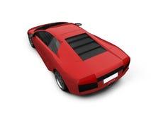 Lamborghini isolated red Stock Photo