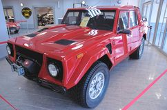 Lamborghini LM002 Royalty Free Stock Photos