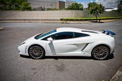 Lamborghini lp560-2 έξοχο πρότυπο αυτοκινήτων 2013 Στοκ φωτογραφία με δικαίωμα ελεύθερης χρήσης