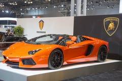 Lamborghini luxury sport car Stock Photography