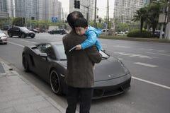 Lamborghini Marzyć Fotografia Royalty Free