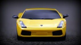 Lamborghini miniature Stock Image