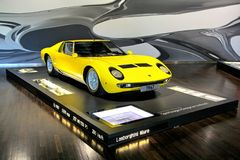Lamborghini Miura Arkivfoto