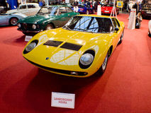 Lamborghini Miura in Milaan Autoclassica 2016 royalty-vrije stock foto's