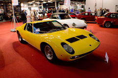 Lamborghini Miura at Milano Autoclassica 2016 Royalty Free Stock Photos