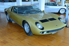 Lamborghini Miura Royalty Free Stock Photo