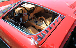 Lamborghini miura supercar window Royalty Free Stock Image