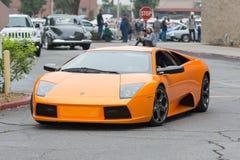 Lamborghini Murcielago car on display Stock Photos