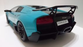 Lamborghini Murcielago SV (SuperVeloce) italian sports car Royalty Free Stock Image