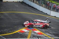 Lamborghini nel Gran Premio della città Fotografia Stock Libera da Diritti