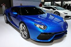 Lamborghini novo Asterion Imagem de Stock