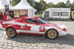 Lamborghini retro samochód Zdjęcia Stock