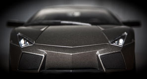 Lamborghini. Reventon front view - vignette - need 4 speed royalty free stock photography