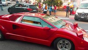 Lamborghini rojo Countach