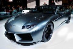 Lamborghini am Salonautomobil Stockfotografie